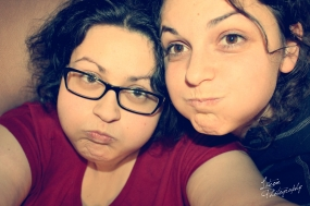 My Goofy sister and I